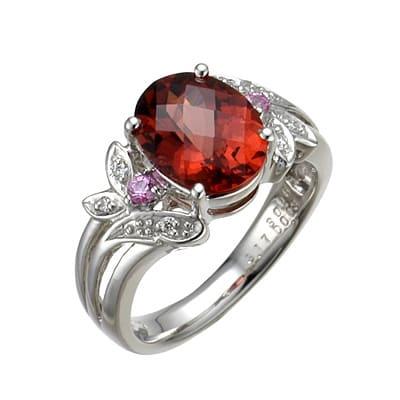 「赤い色の宝石.5「マラヤ・ガーネット」」のイメージ画像