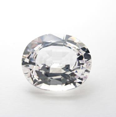 「白・透明の宝石.8「ホワイト・サファイア」」のイメージ画像