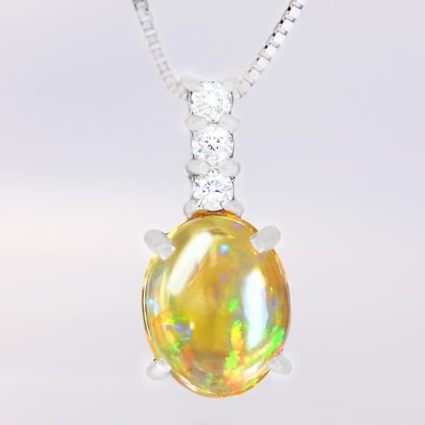 「黄色の宝石.4「ファイアオパール」」のイメージ画像