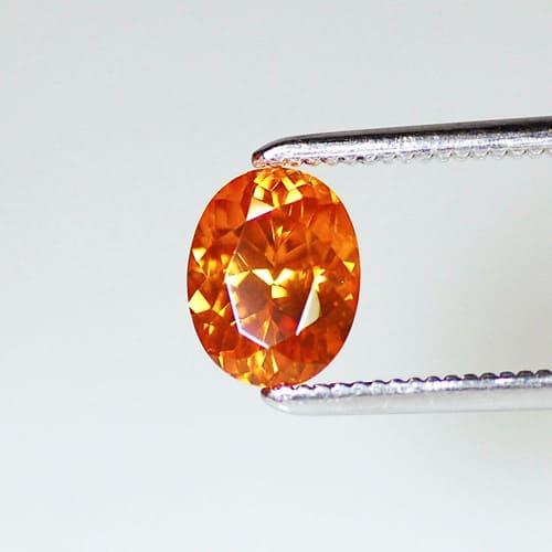 「オレンジ色の宝石.5「オレンジ・ジルコン」」のイメージ画像