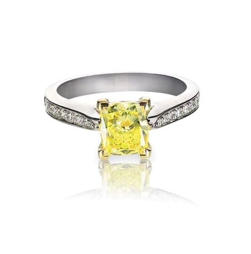 「黄色の宝石.5「ファンシーイエロー・ダイヤモンド」」のイメージ画像