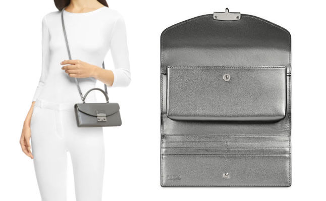 「【FURLA METROPOLIS】財布とバッグを兼用できるタイプ」のイメージ画像