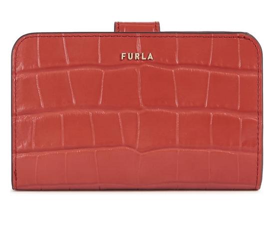 「【FURLA BABYLON 】程よいサイズ感の二つ折り財布」のイメージ画像