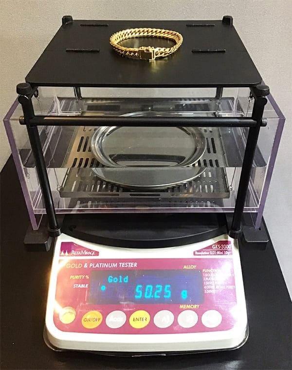 「金買取のポイント2:重さ」のイメージ画像