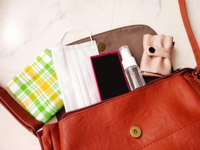 「手順1:財布やバッグなど小さなところを断捨離する」のイメージ画像
