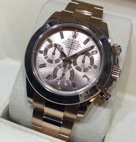 「8Pダイヤ(116505A)|買取価格5,150,000円」のイメージ画像