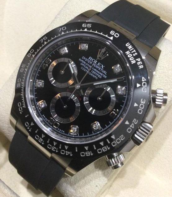 「8Pダイヤ/黒文字盤(116519LNG)|買取価格4,710,000円」のイメージ画像
