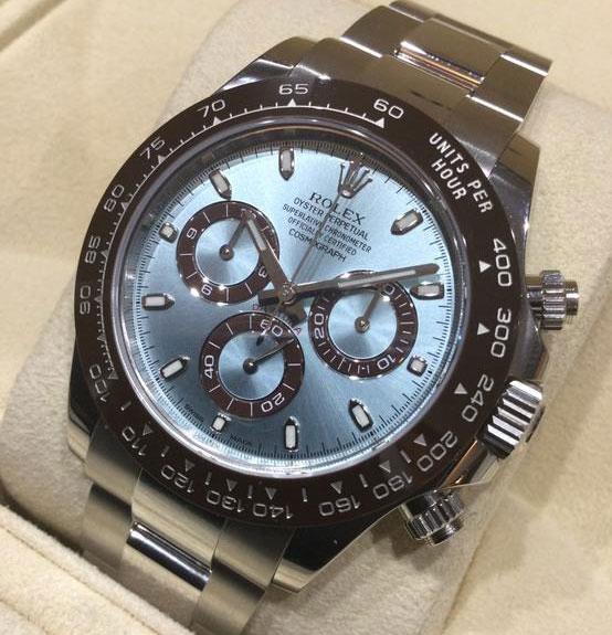 「1位:デイトナ116506 アイスブルー|買取価格13,000,000円」のイメージ画像
